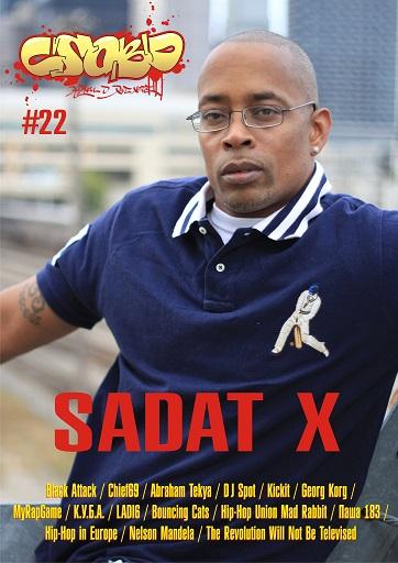 "Интервью Sadat X для журнала ""Слово"""