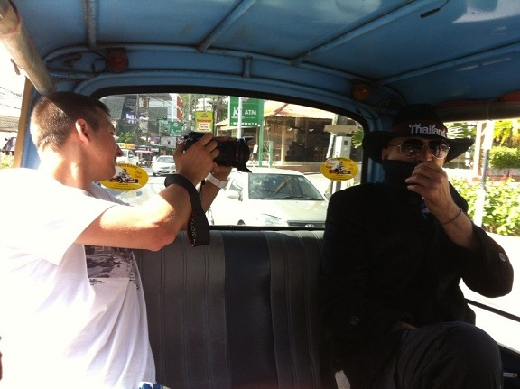 Handle принял участие в съёмках 3ёх клипов на Пхукете